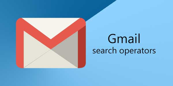 image contains gmail logo with search operator text
