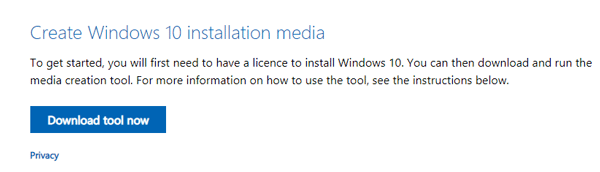 How do I download Media Creation Tool on Windows